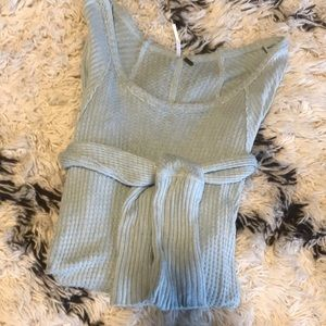 Free People light blue thermal